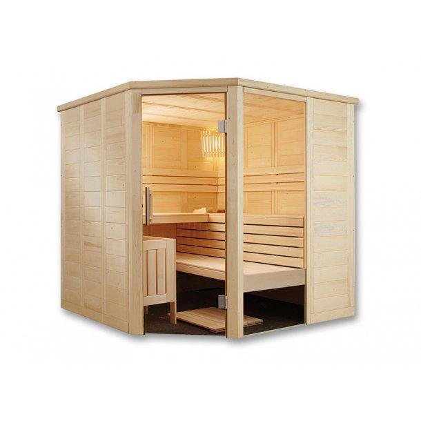 Sauna kabine Inge 206x206x204 9 kW Elovn