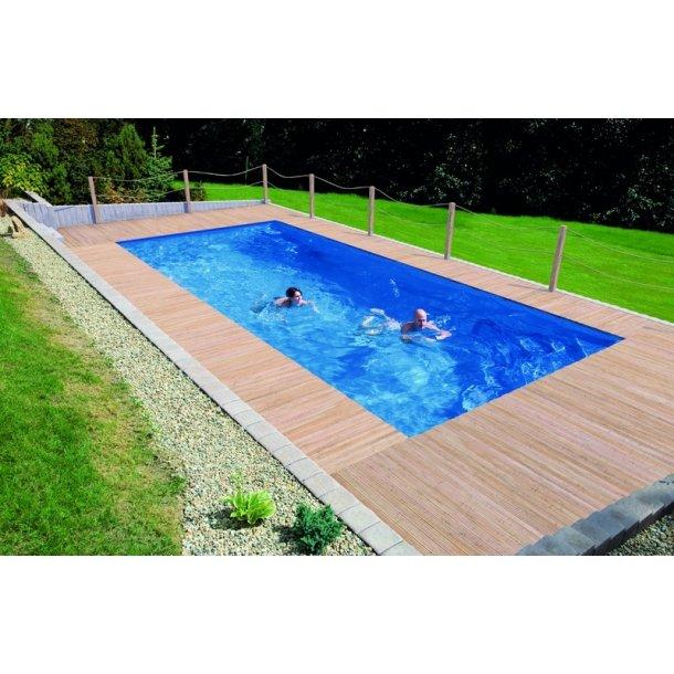 Keramisk Pool Rubin 8,2 * 3,54 m