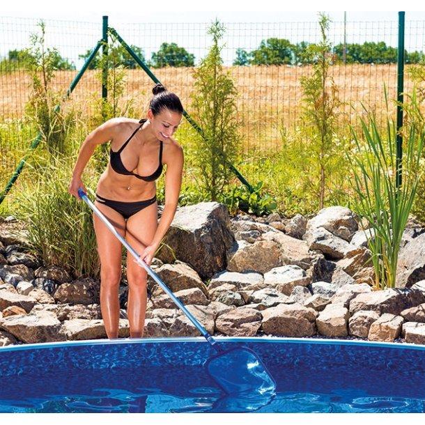 Overfladenet med stang til Pool og Spa 1,2 m