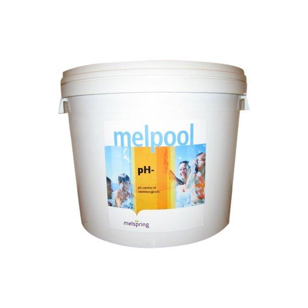 pH Minus granulat 15 kg - Melpool