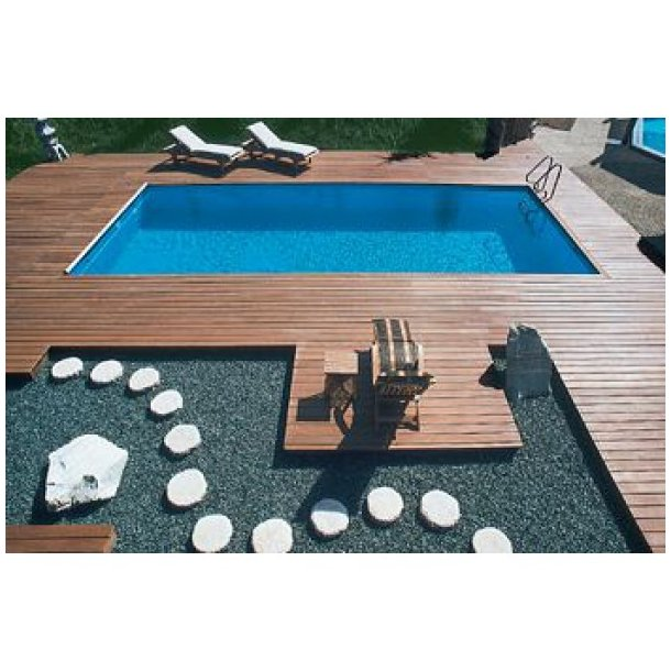 Styropren Pool Pakke 3 x 6 x 1,5 m Achensee