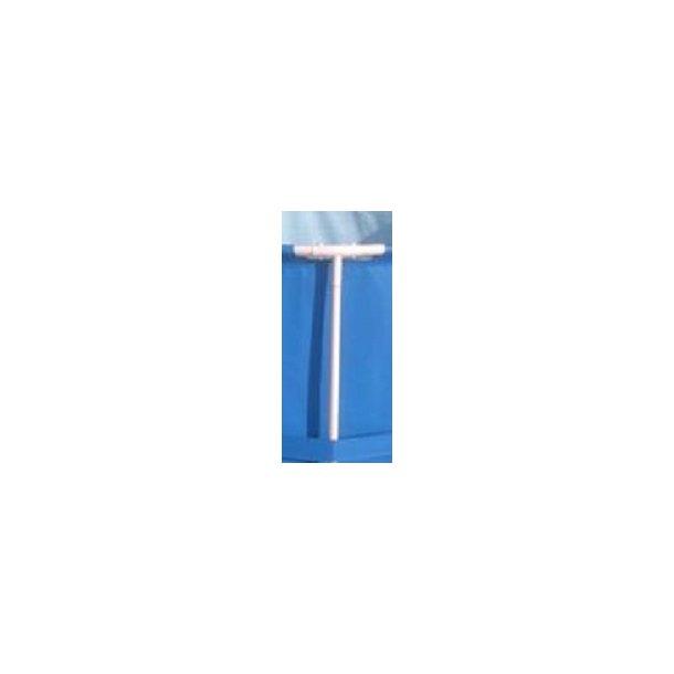 lodrette Stænger til rund stålramme pool H 122 cm