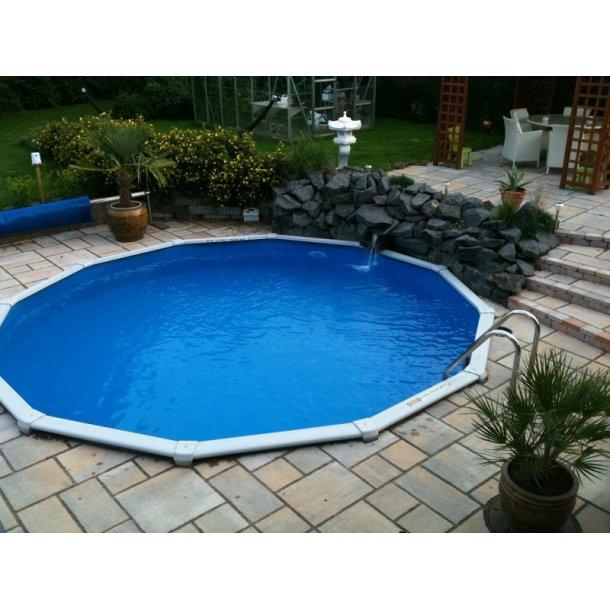 Stålvægs Pool Rund H 1,2 m uden Pumpe - 4 størrelser