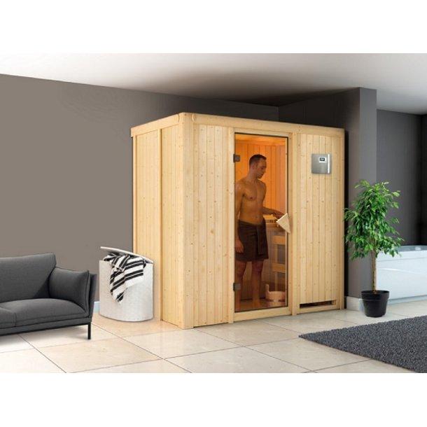 Sauna kabine Variado 196x118x198 cm 3,6 kW Elovn