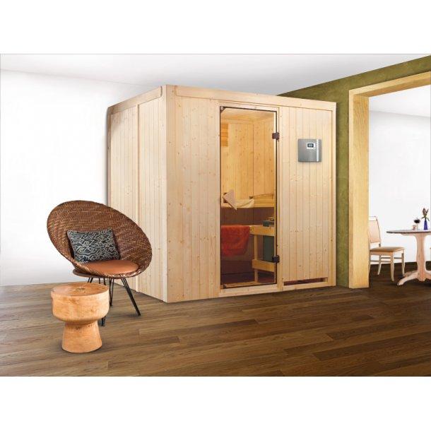 Sauna kabine SUVI 196x151x198 cm 9 kW Elovn