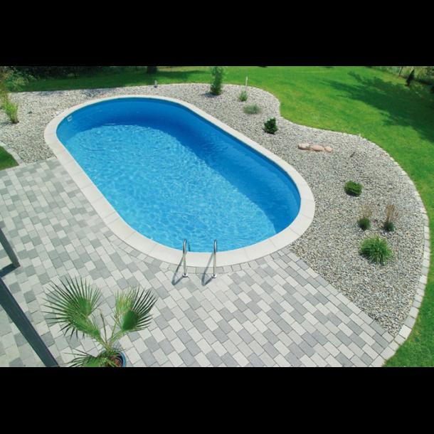 Florida kantflise lige til pool - 595x316x33 mm.