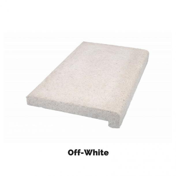 Kantflise Athen lige 500x300x35 mm - off whites