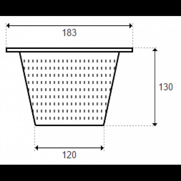 Skimmerkurv Hayward SKX16000C Ø18,3 cm H 13 cm