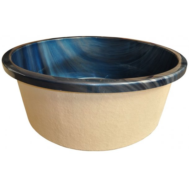 Udespa acryl/træ ø180 cm Topspa xs - blue shadow