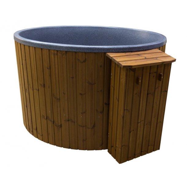 Træ kasse/boks til beskyttelse af gasovn
