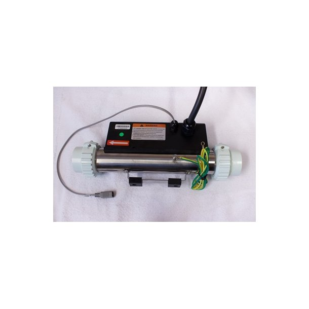 Rostfri elektrisk varmer 3 kw (