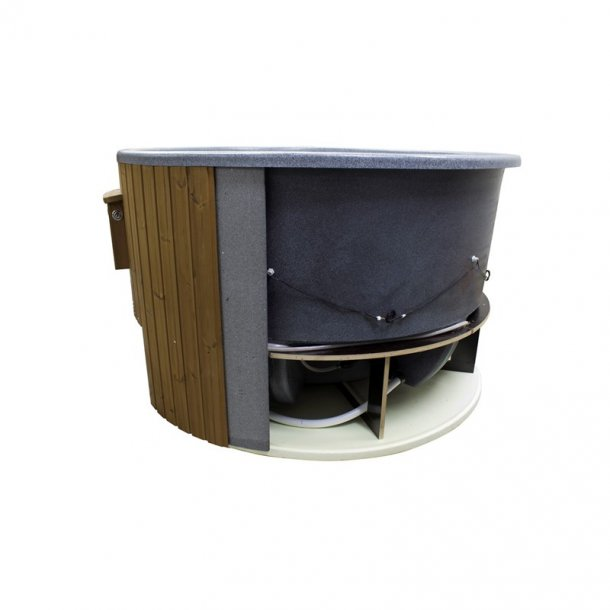 Vildmarksbad 25 kW Brændeovn