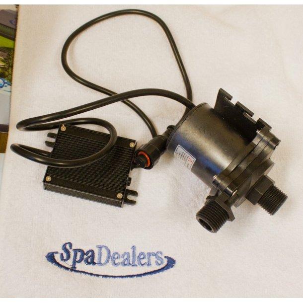 Pumpe 1200 l/t og DC: 24V transformer