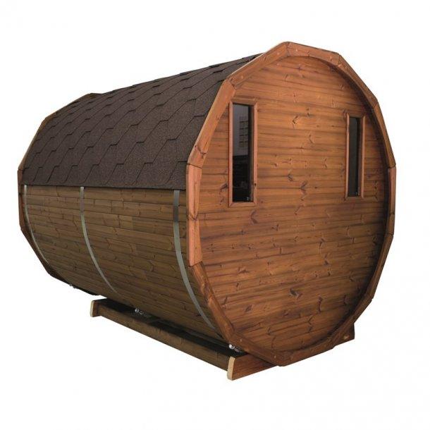 Sauna tønde Thermowood 260 cm Elovn Saml Selv