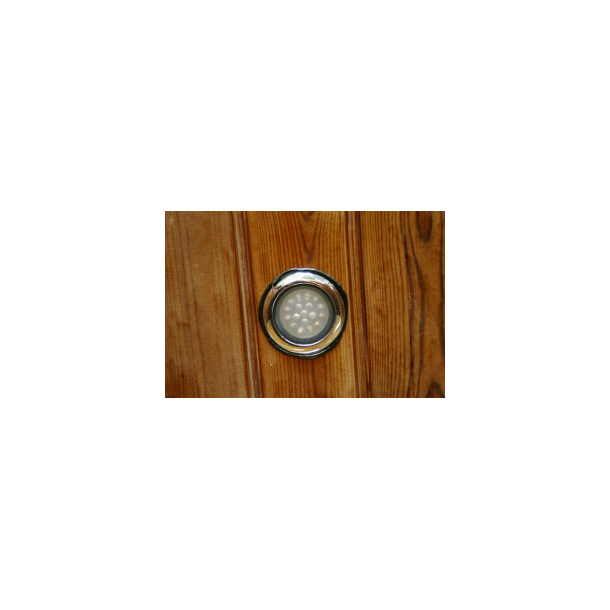 LED lampe med transformer og styrepanel