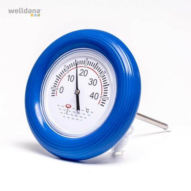 Stort Flydende Swimmingpool Termometer