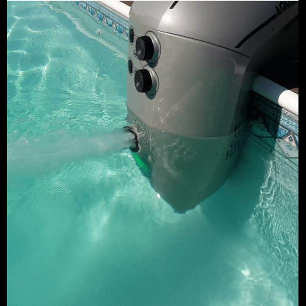 Modstrømsanlæg - Svømmetræner til Pool AquaJet 100