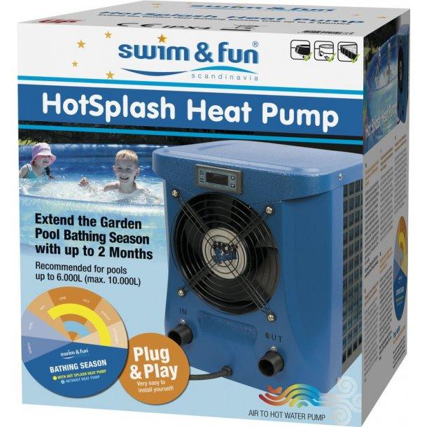 HotSplash poolvarmepumpe Swim & Fun