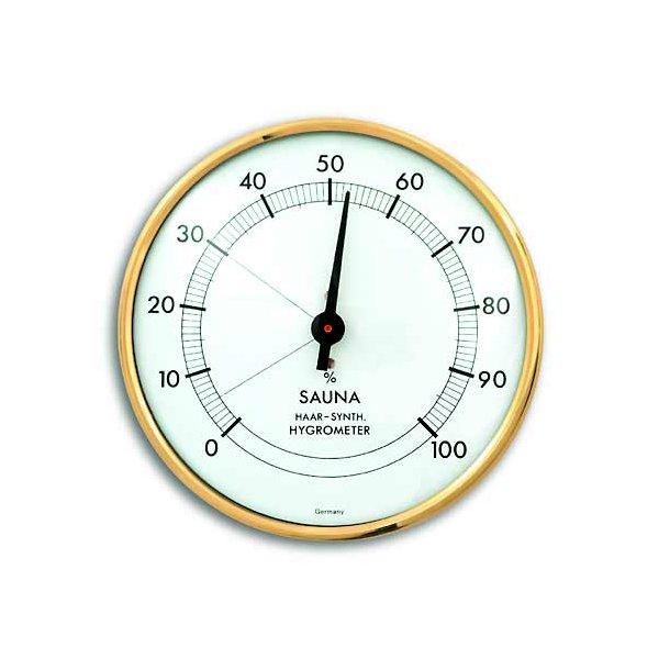 Sauna Hygrometer Ø 10,2 cm Metal