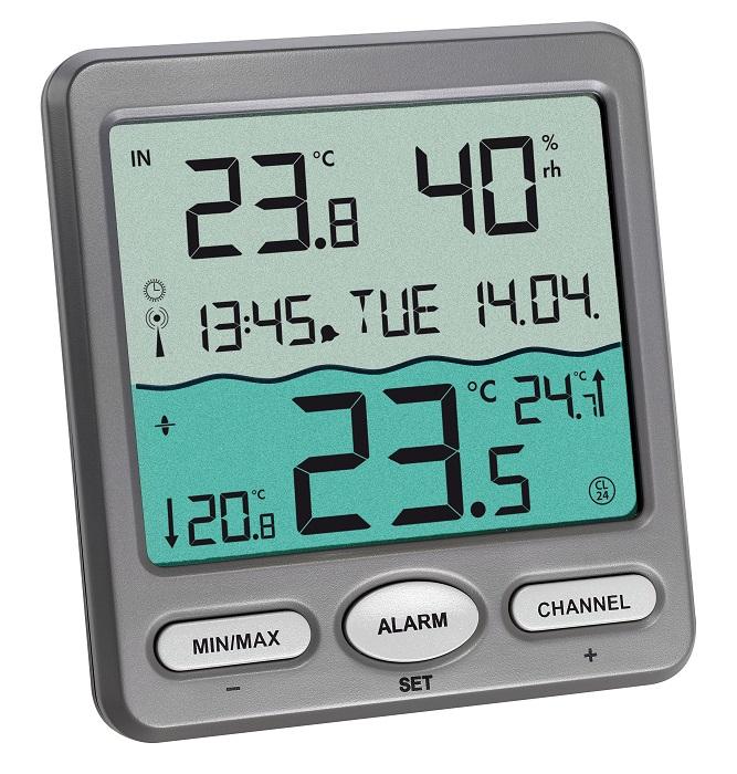 Digital Pooltermometer Tr 229 Dl 248 S Venice K 248 B Her
