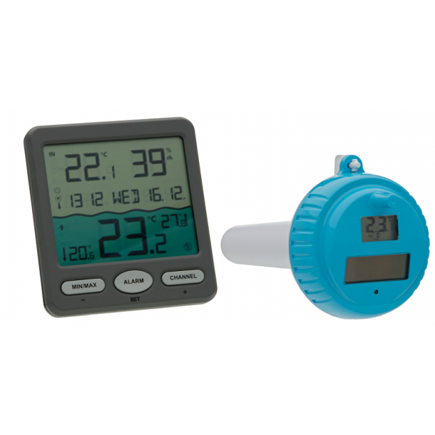 Digital Pool Termometer Trådløs model Venedig