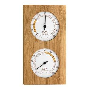 Sauna Termometer - Hygrometer Egetræ c15999fdfebf2