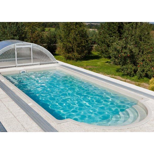 Keramisk Pool Topaz 7,5 x 3,52 m