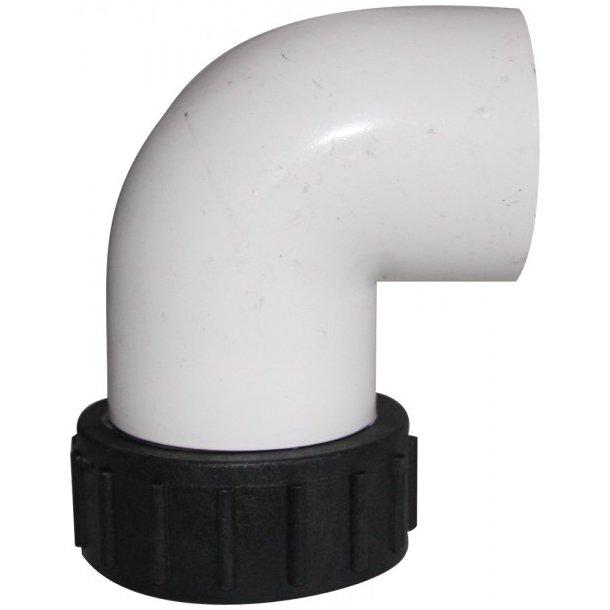 Union til spapumpe welldana - 90 gr. og 50 mm lime