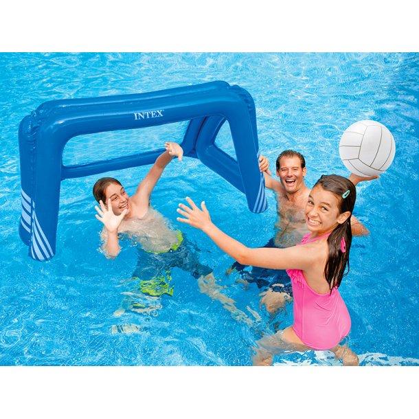 Vandpolo Mål med bold til Pool