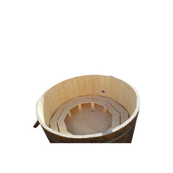 Vildmarksbad Samlet Udvendig Ovn Grantræ Fås i 3 størrelser