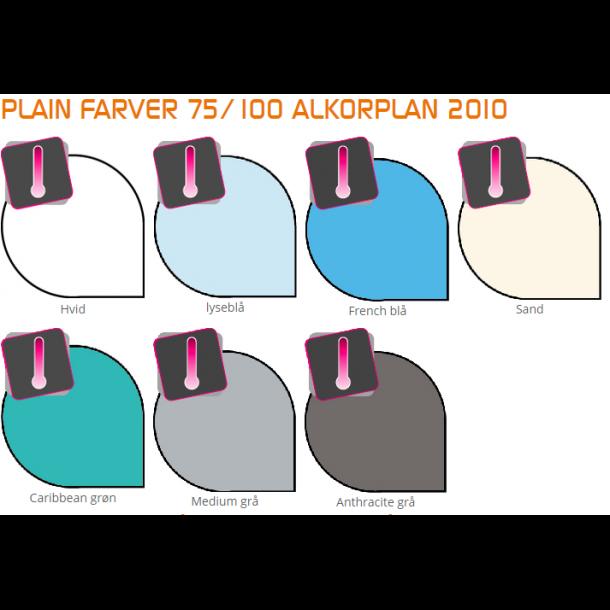 Liner Pool 0,75 mm Alkorplan Ensfarvet Pris per kvm Efter mål