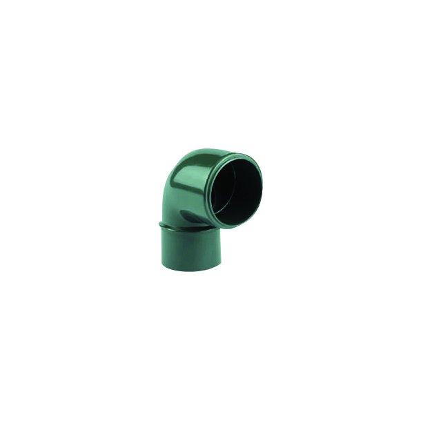 Gevindvinkel 90° pvc fittings 1-1/2