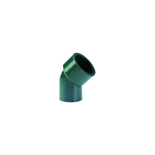 Gevindvinkel 45° pvc fittings