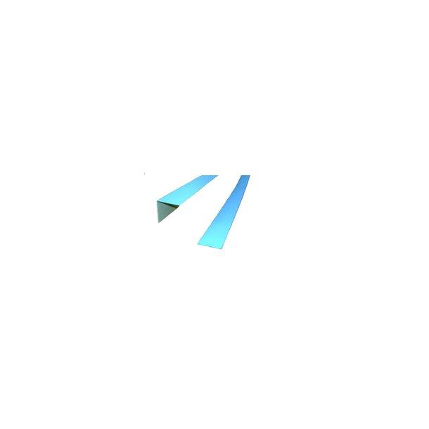Folieblik, 5x5cm vinkel, 200cm blå folie