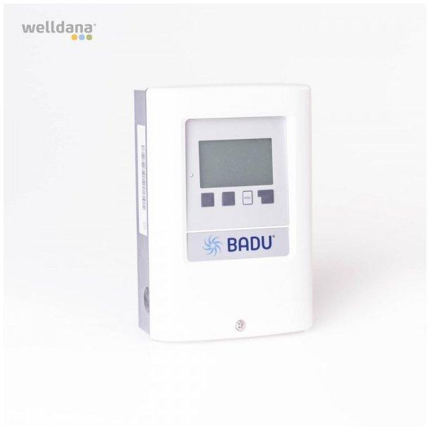 Fjernbetjening med tidsprogram til Badu frekvensstyret poolpumpe