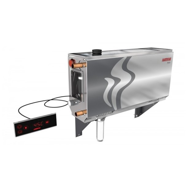 Dampgenerator Helix inkl. fjernbetjening fra harvia