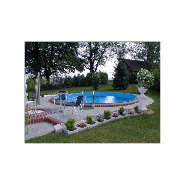 Milano rund pool fra ø 3,0 m - hobby pool