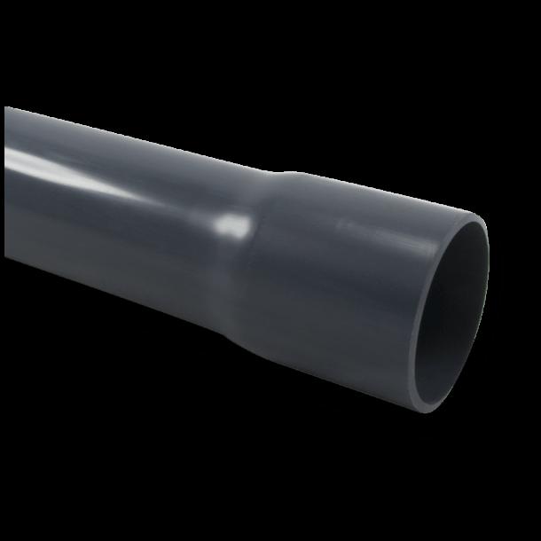 PVC Rør 5 m længde 11 størrelser