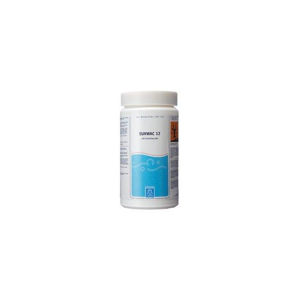 Sunwac 12 Klor Tabletter - 100 tabs - 1 kg