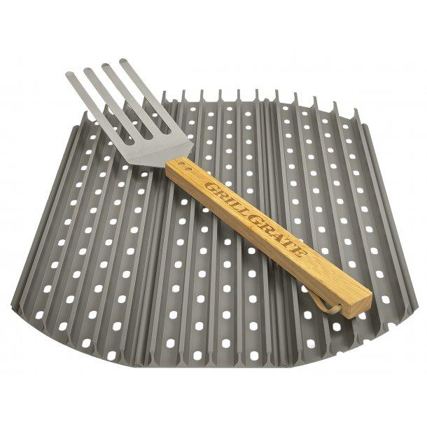 Grill Grate rist til Kuglegrill 57 cm inkl. gaffel redskab