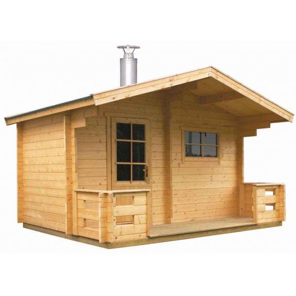 Sauna hytte med brændeovn - Keitele