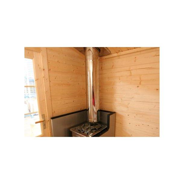 Sauna hytte med brændeovn - Kuikka