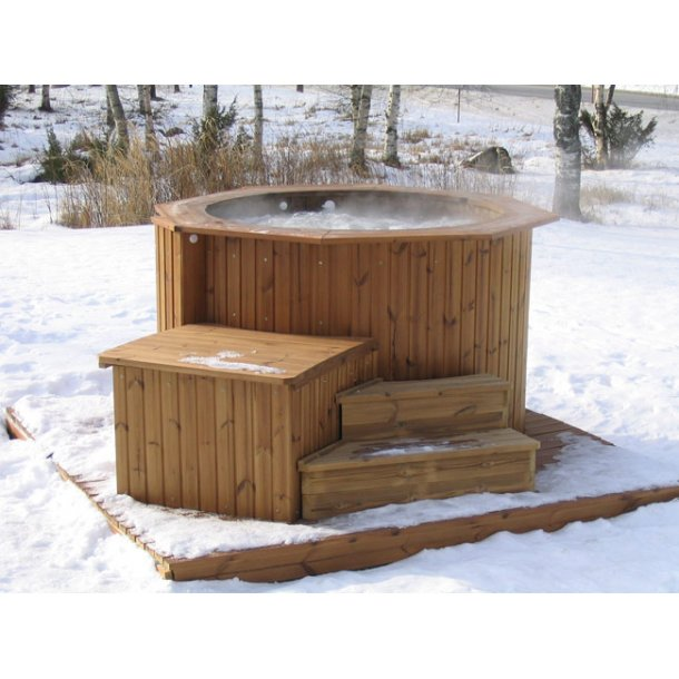 Hot-tub Aquaking 150 cm Polar med Jet massage