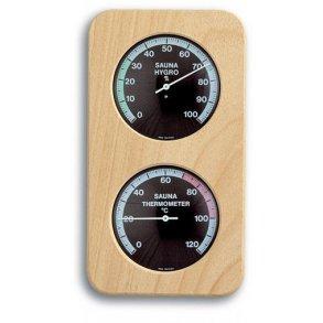 Sauna Termometer - Hygrometer Træ 801b59d284171