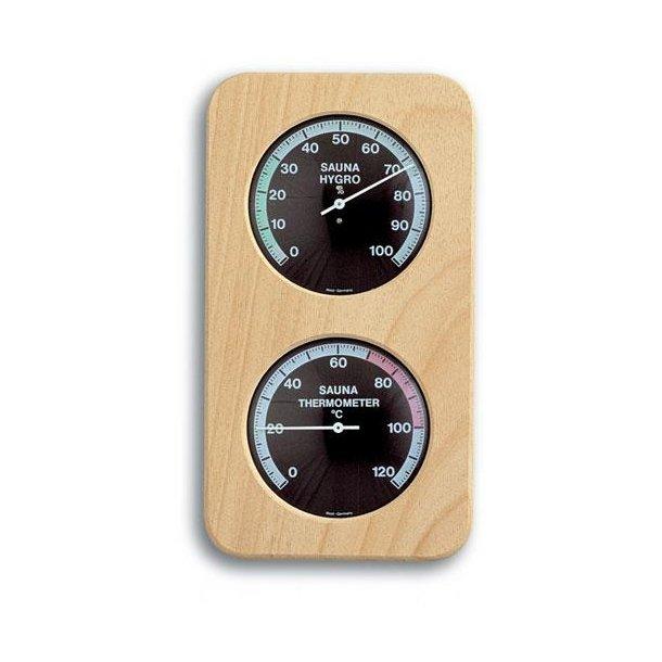 Sauna Termometer - Hygrometer Træ