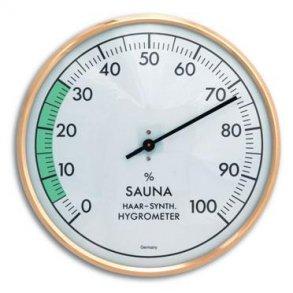 Sauna Hygrometer Ø16 cm Metal 75cbf6016bc0e