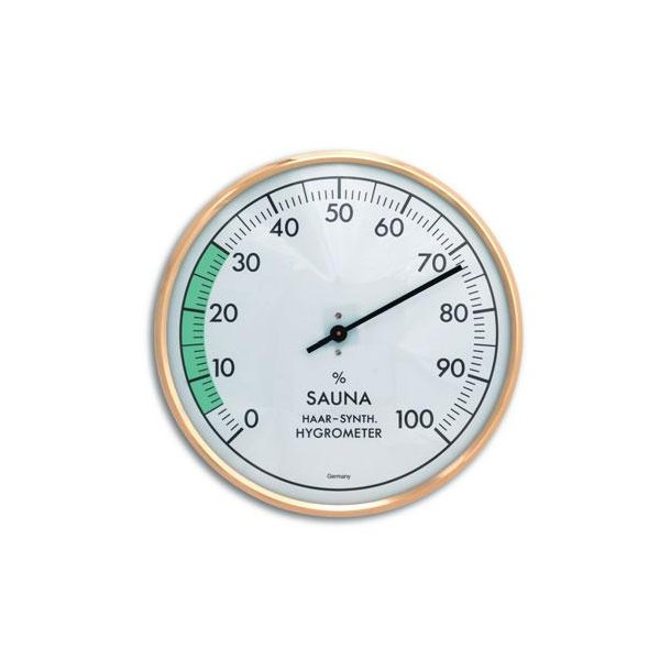 Sauna Hygrometer Ø16 cm Metal