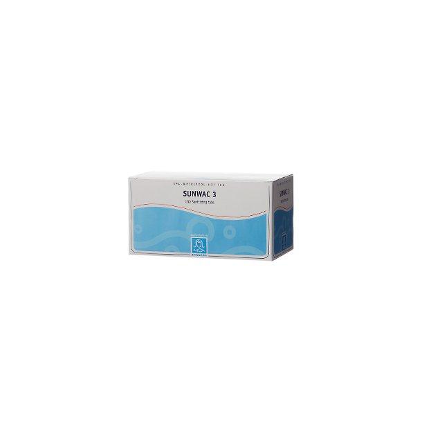 Sunwac 3 160 Klortabletter 1 g til Indendørs Spa