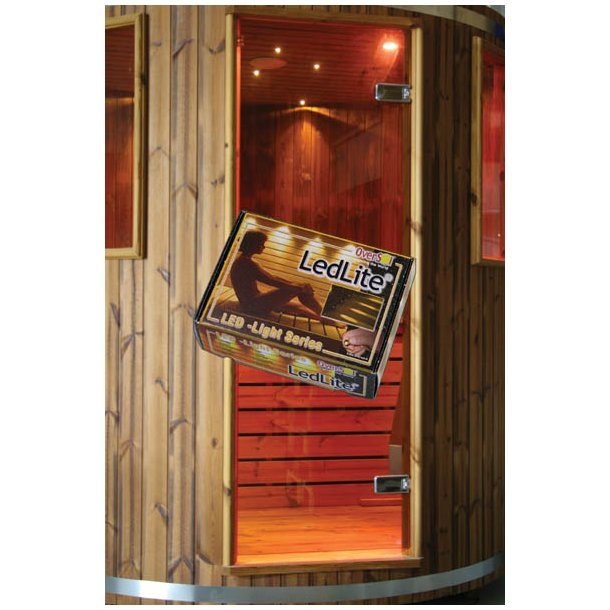 Lys led til sauna og vådrum