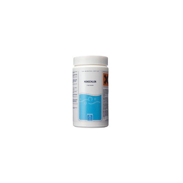 Minichlor 1 kg - klor granulat fra Spacare